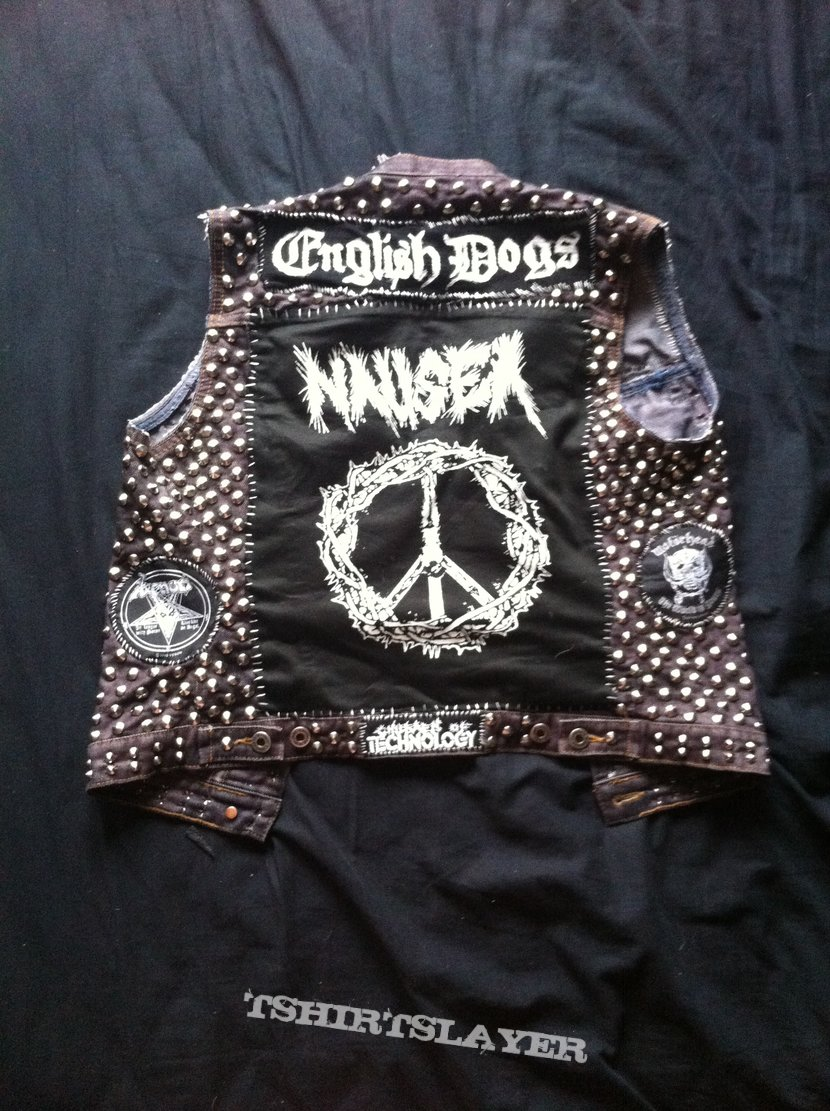 Crusty/Metalpunk vest