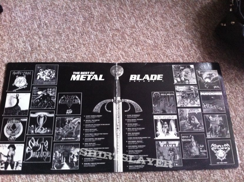 Best of metal blade volume 1 double LP