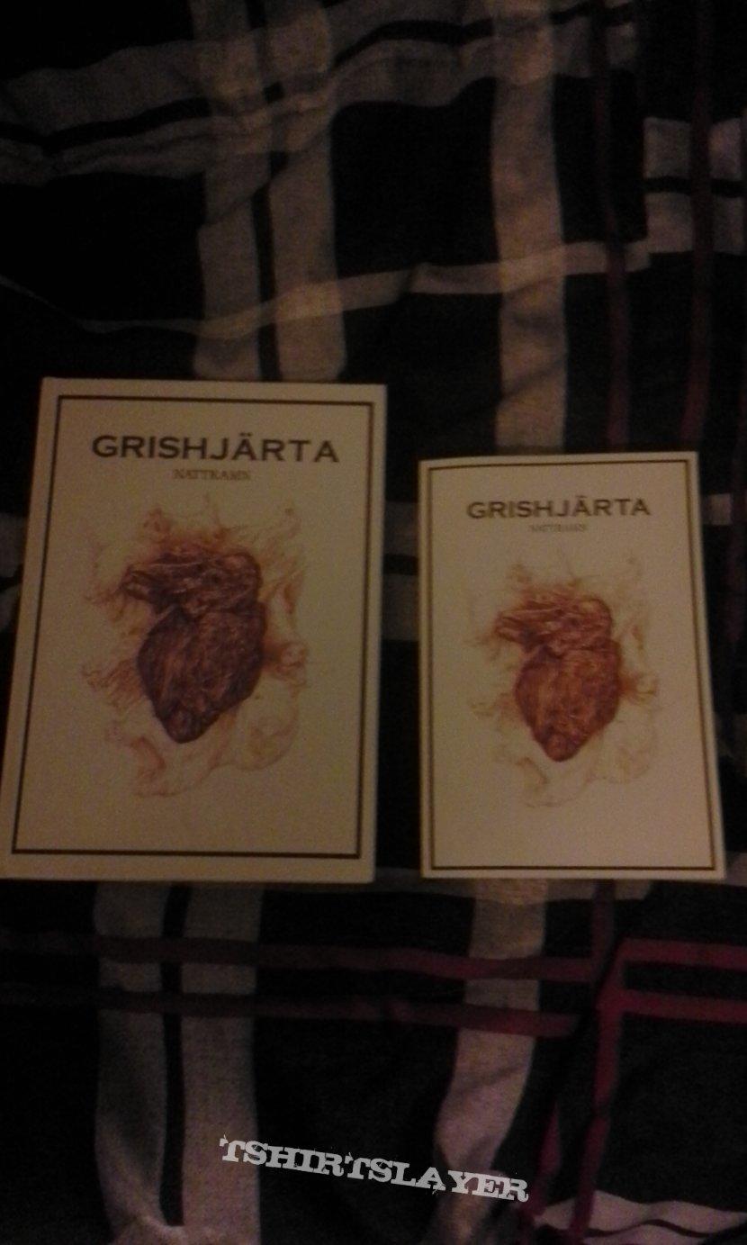 Grishjärta, hardcover x 2 + paperback