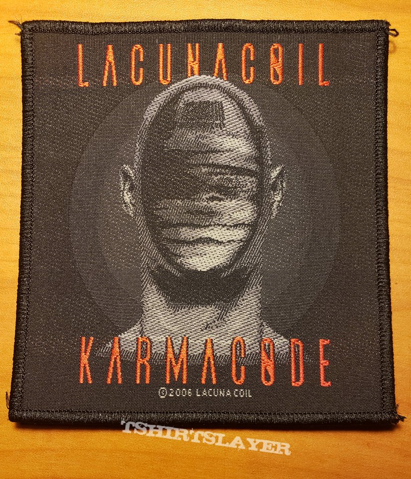 """Lacuna Coil """"Karmacode"""" patch"""