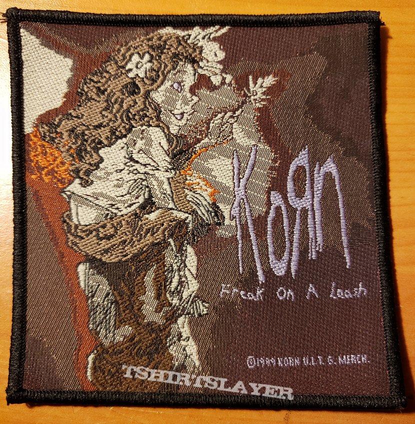 """Korn """"Freak On A Leash"""" patch"""