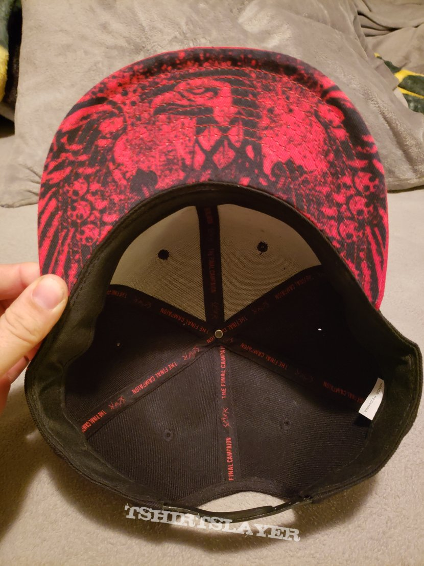 "Slayer ""The Final Campaign"" hat"
