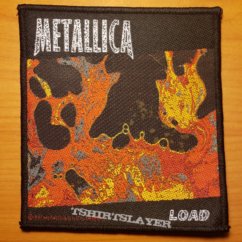"""Metallica """"Load"""" patch"""