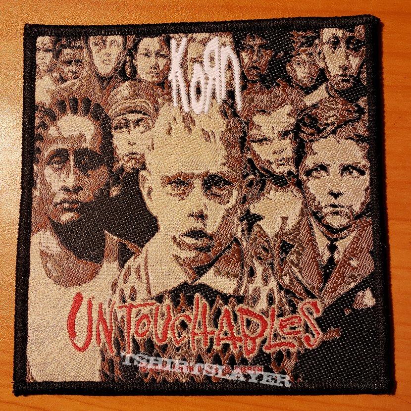 """Korn """"Untouchables"""" patch"""