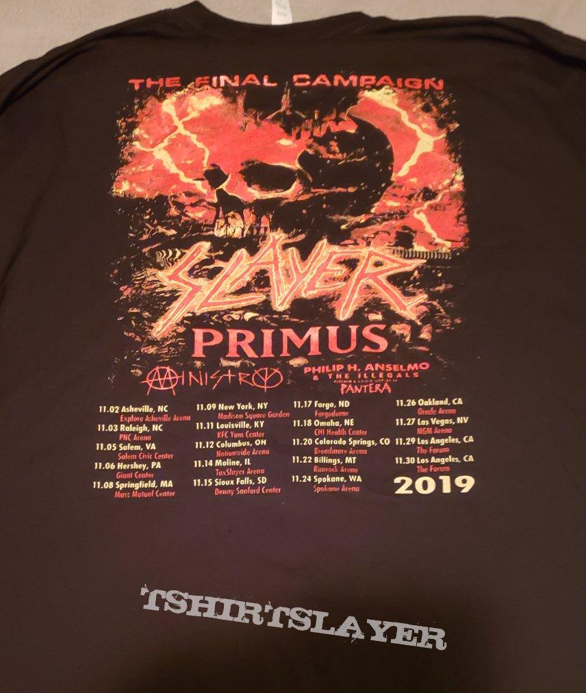 "Slayer ""The Final Campaign"" bootleg longsleeve"