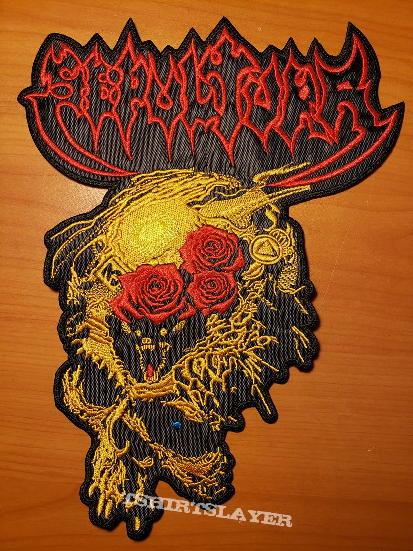 """Sepultura """"Beneath The Remains"""" embroidered backpatch"""