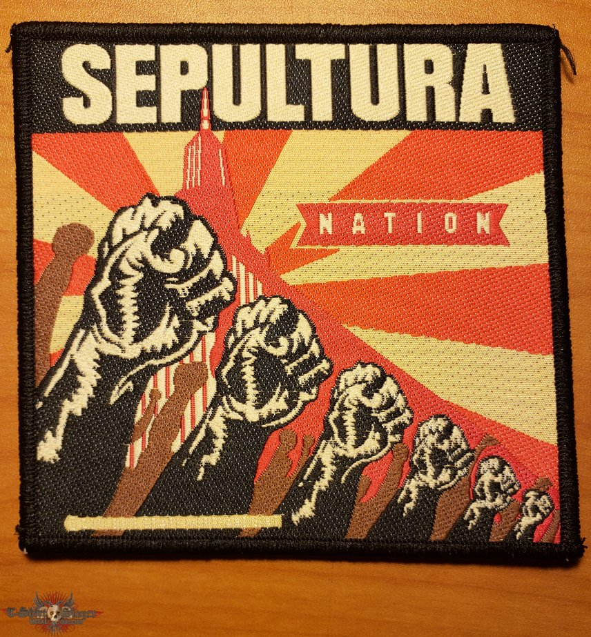 "Sepultura ""Nation"" patch"
