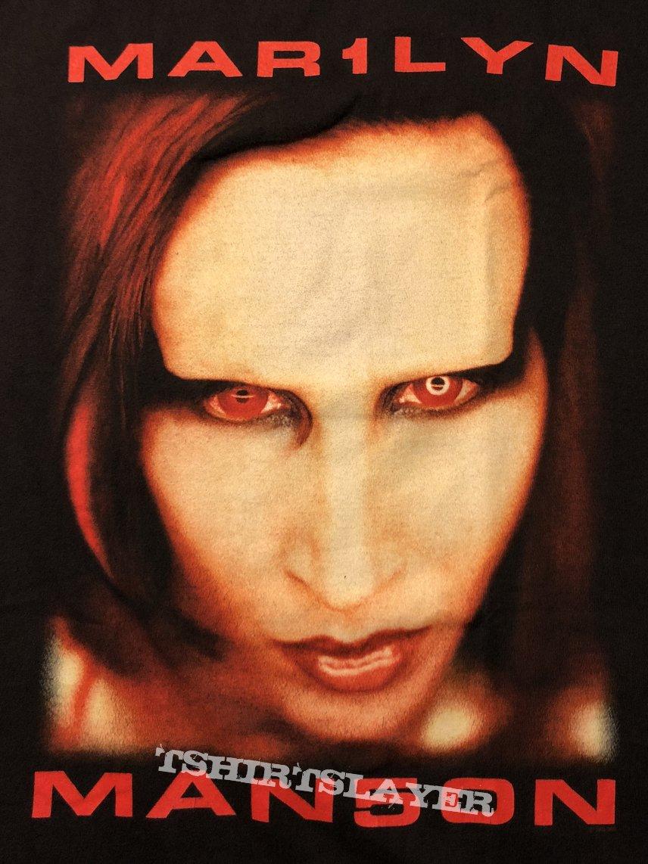 "Marilyn Manson T-Shirt - ""BIGGER THAN SATAN"""