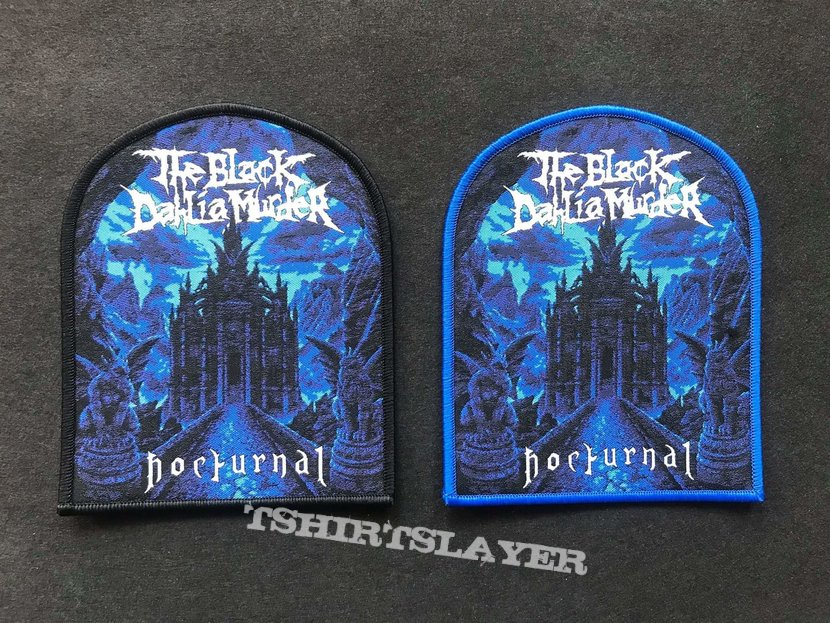 The black dahlia murder woven nocturnal patch