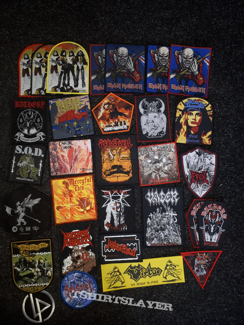 Many many patches