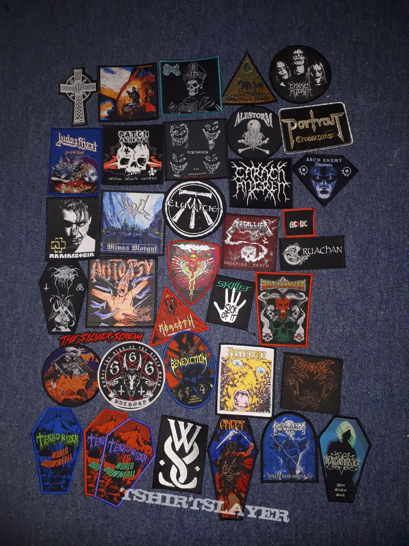 Part of my usable patch collection