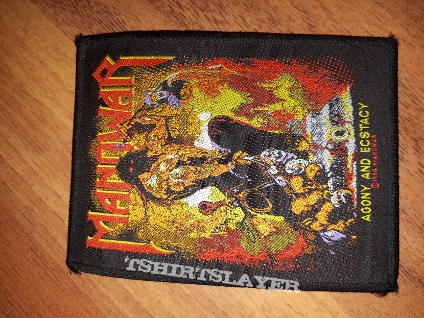 Manowar agony and ectasy patch