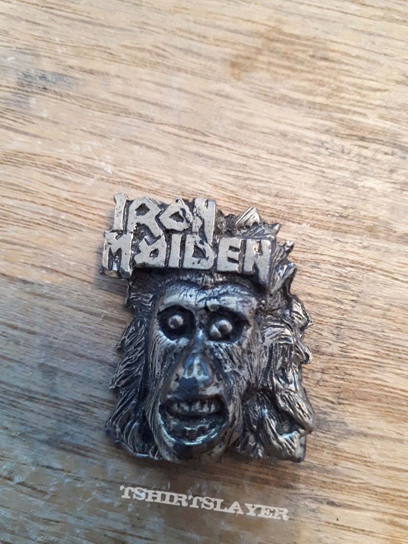 Iron maiden debut? Pin