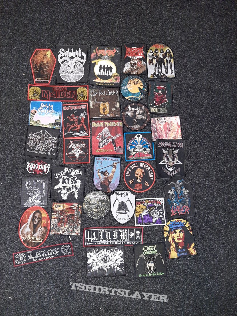 Patches for you.