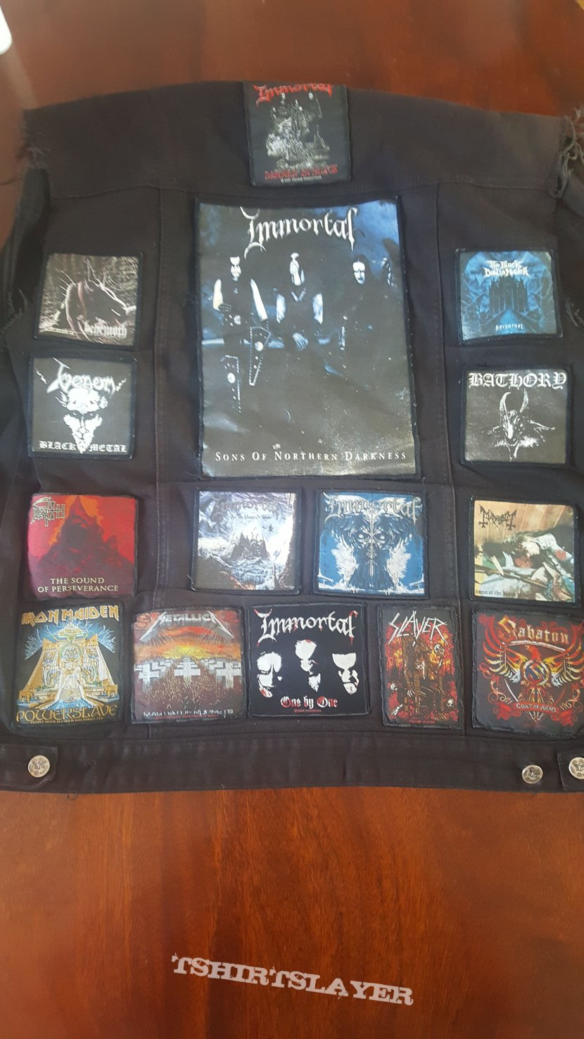 My Battle Jacket - In Progress