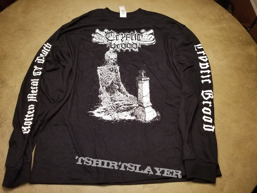 "Cryptic Brood ""Rotten Metal of Death"" LS"