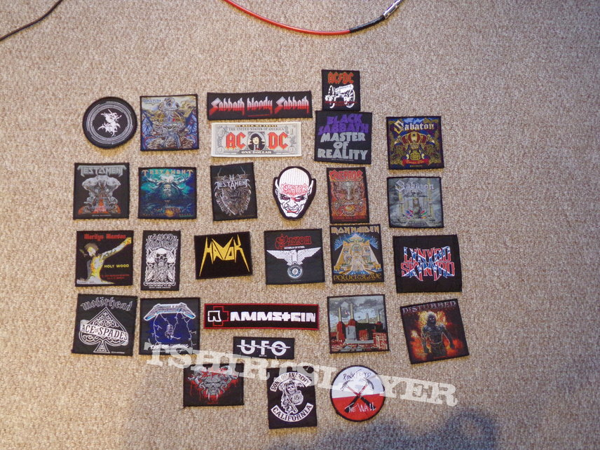 Patch collection so far...