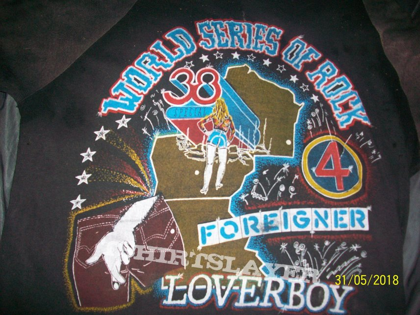 "world series of ROCK 82"""
