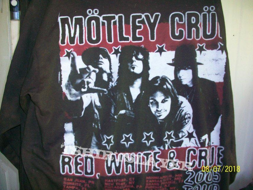 5b1968b331184 redneck-vintage's Mötley Crüe, Red, White & CRUE TShirt or ...