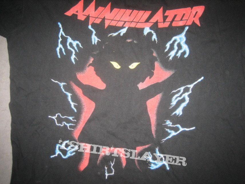 Annihilator Never Neverland Shirt