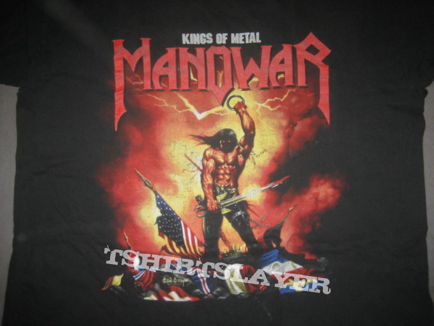 Manowar Agony And Ecstacy World Tour 1994-95 Shirt