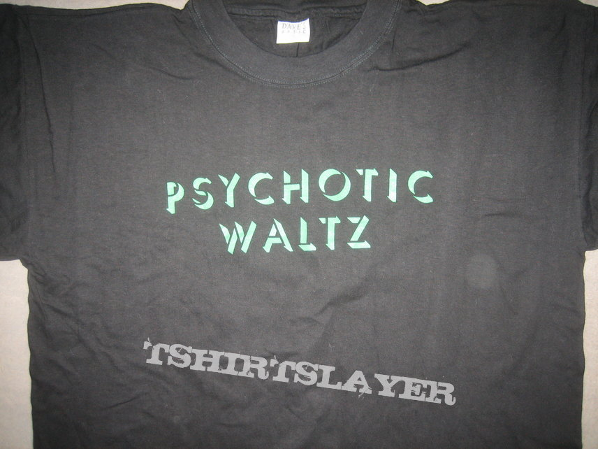 Psychotic Waltz Into The Everflow European Tour 1993 Shirt