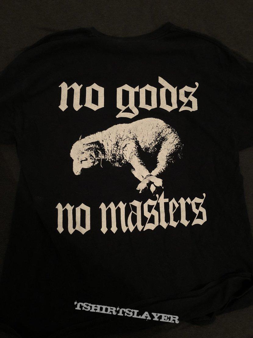 Harms Way - no gods or masters shirt