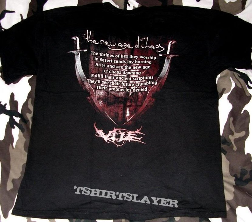 Vile - The New Age Of Chaos - T-Shirt