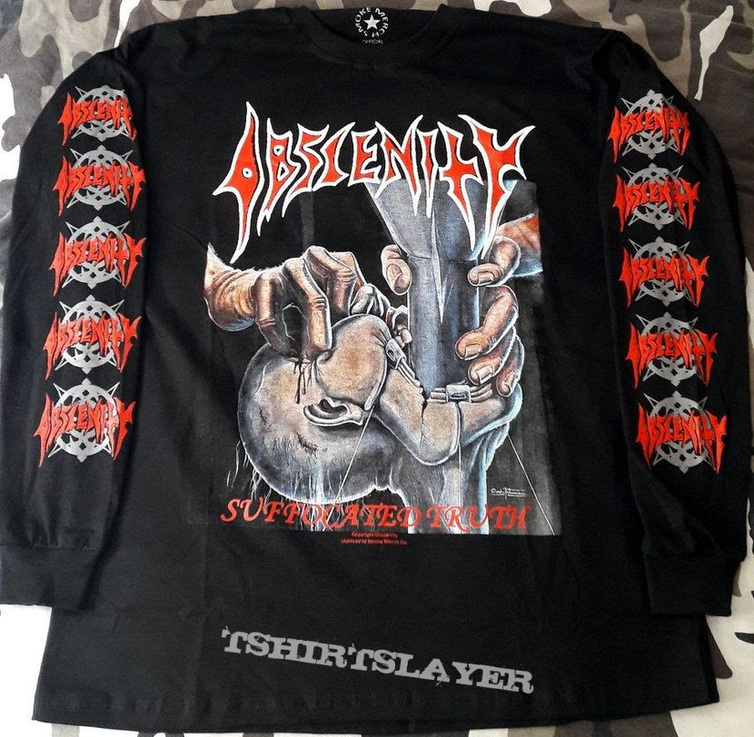 Obscenity - Suffocated Truth - Longsleeve