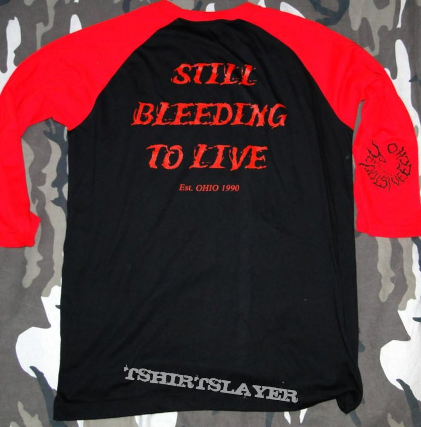 Gutted - Still Bleeding - 3/4-Baseball-Shirt