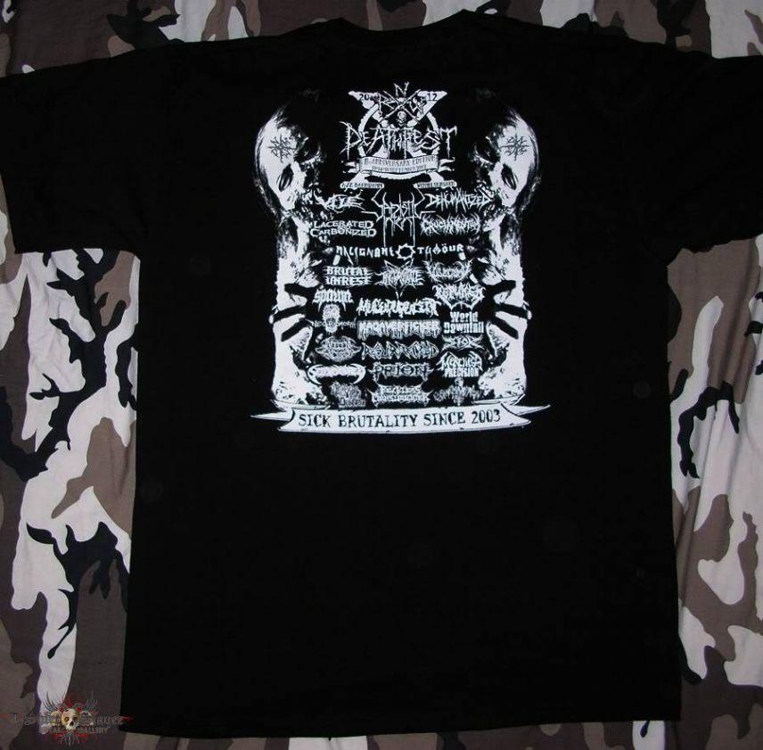 NRW Deathfest X - T-Shirt