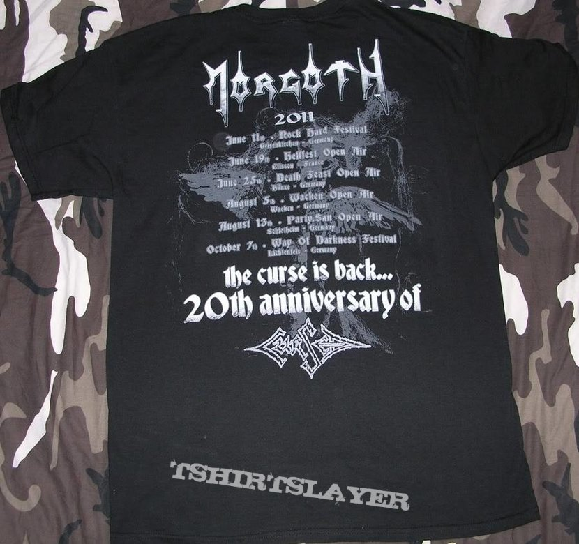 Morgoth - The Curse is back - T-Shirt