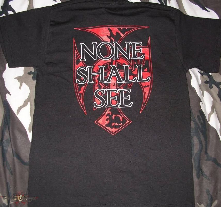 My Own Grave - None Shall See - T-Shirt
