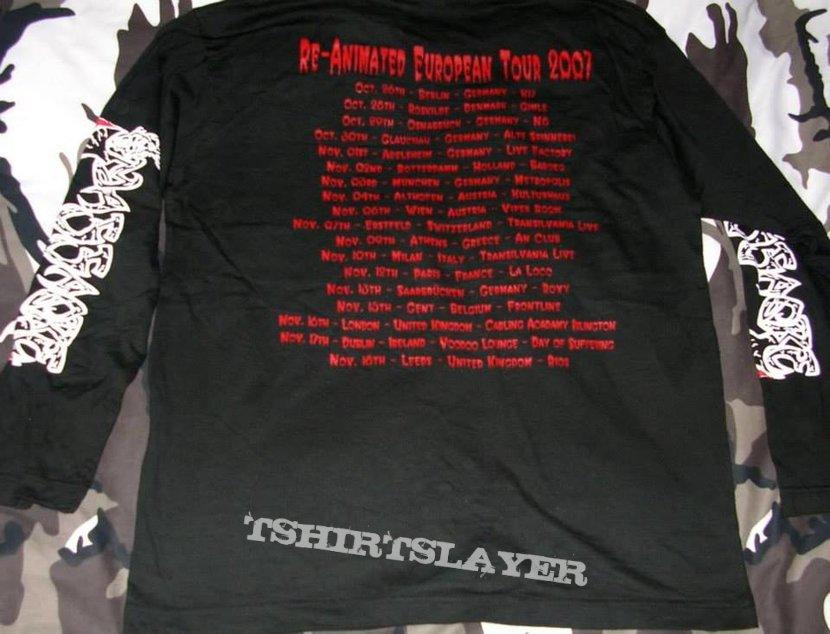 Massacre - Reanimated Tour '07 - Longsleeve