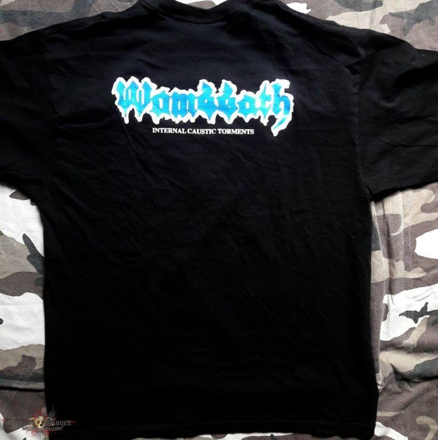 Wombbath - Internal Caustic Torments - T-Shirt
