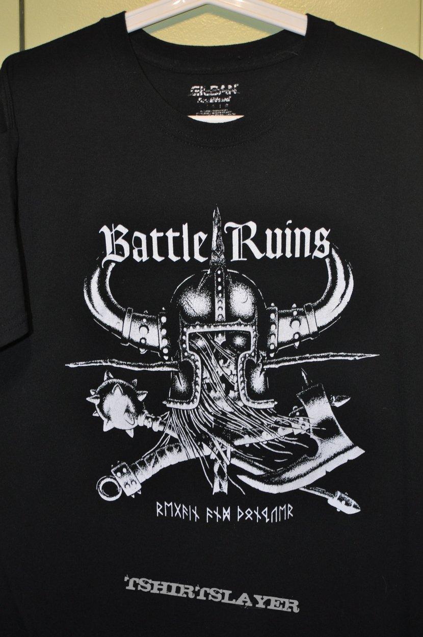 Battle Ruins - logo art