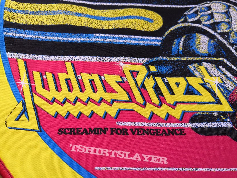 Judas Priest - Screamin' woven backpatch