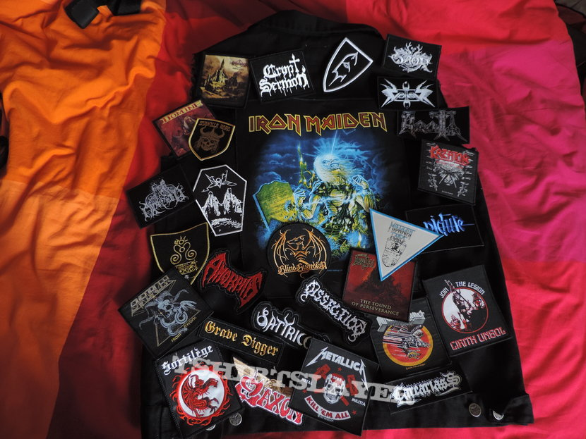 First battlejacket (nothing sewn yet)