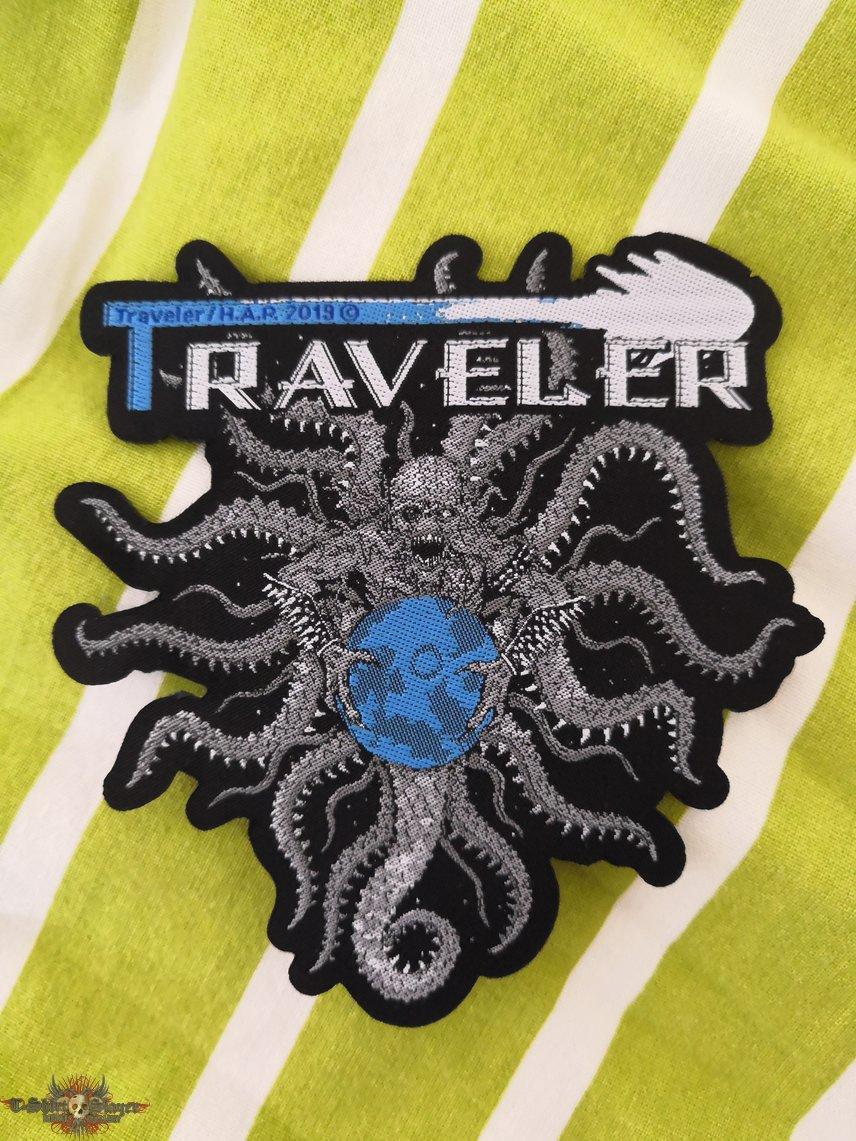 Traveler - Traveler woven shaped patch