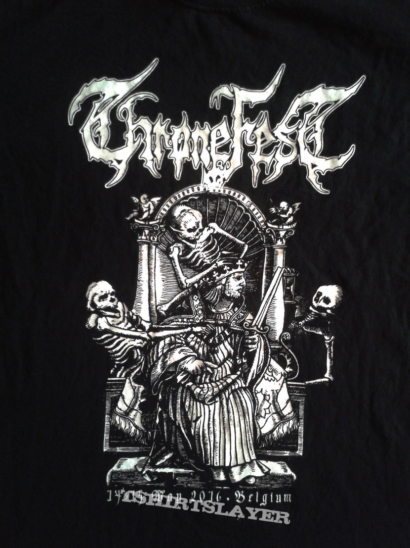 Thronefest 2016 T shirt+line up