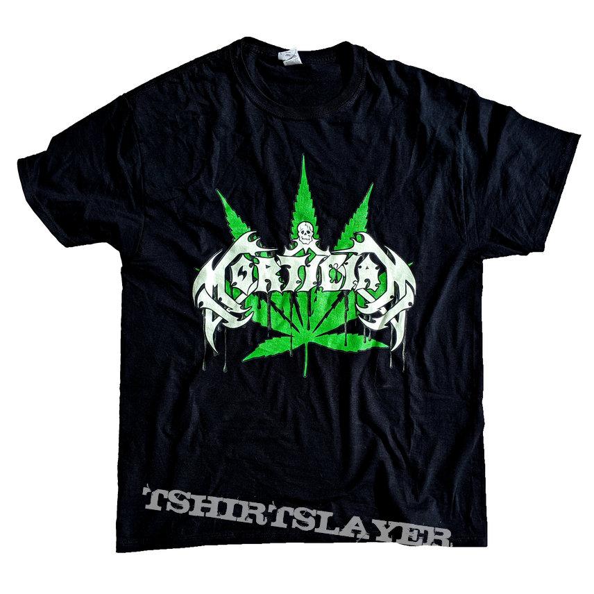 Mortician Pot-Leaf T-shirt