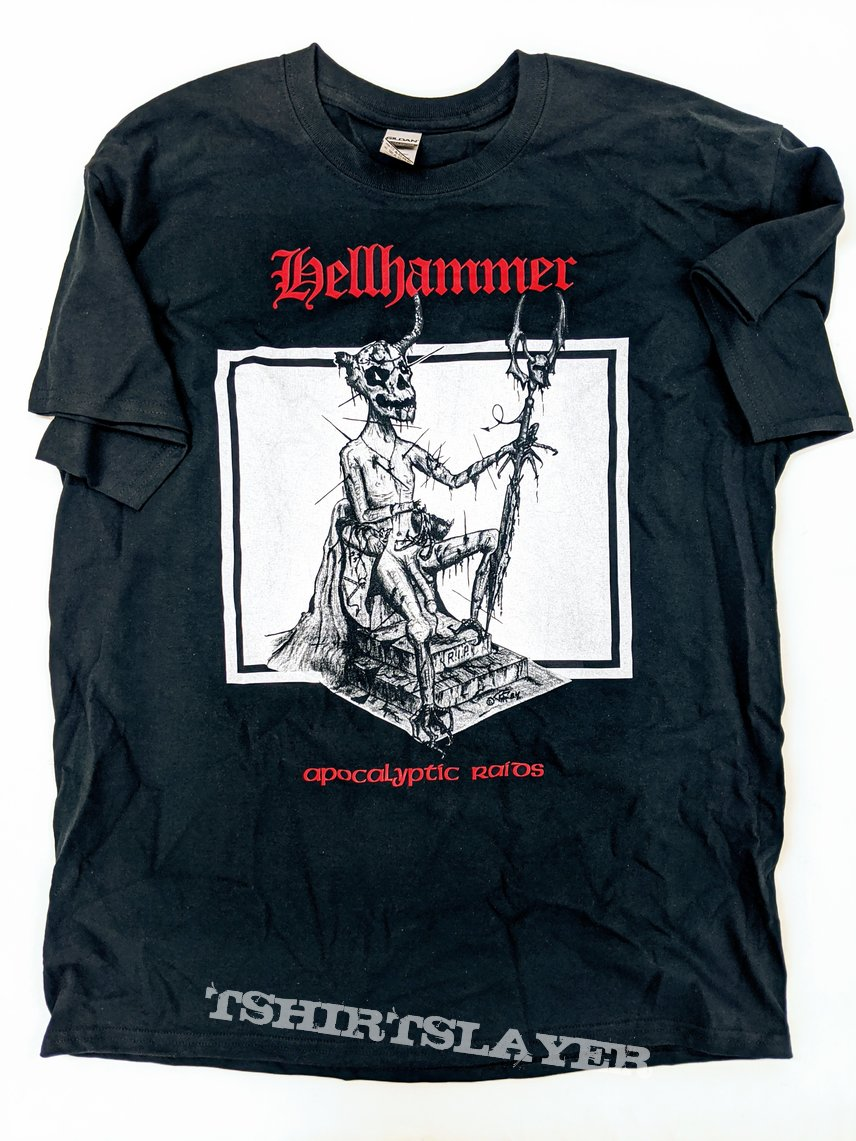 Hellhammer Apocalyptic Raids Tank Top