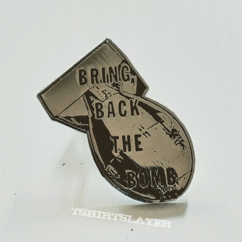 "GWAR ""Bring Back the Bomb"" Steel and Enamel Pin"