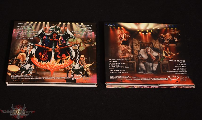 Heavy Load CD's from No Remorse Records