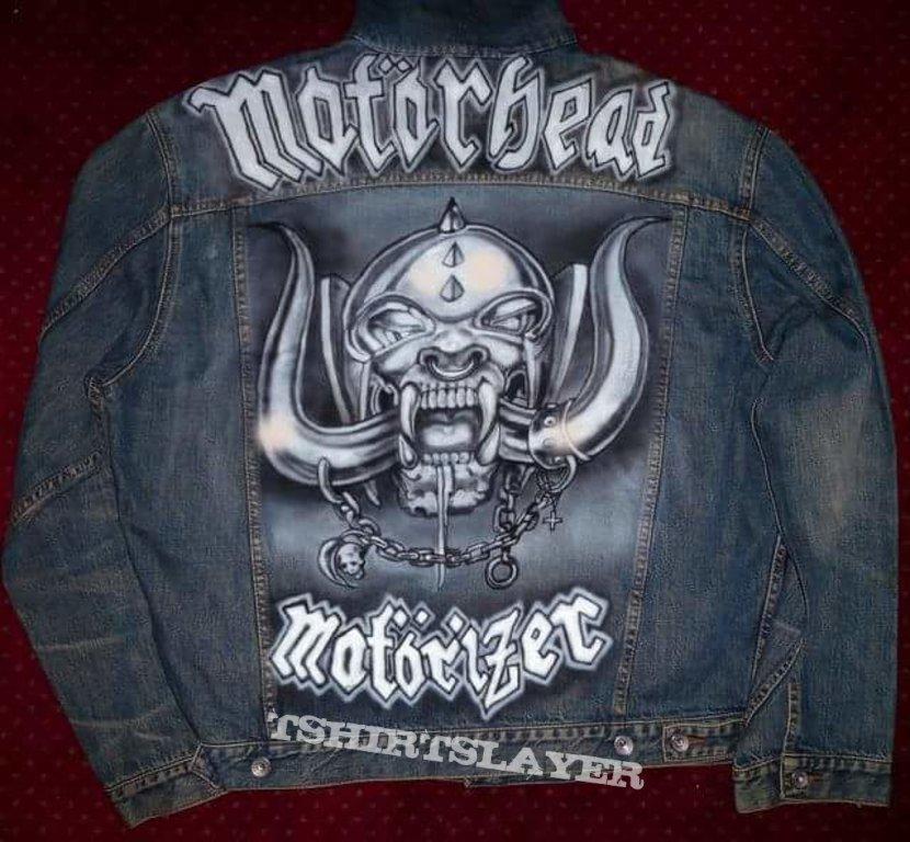 Motorhead airbrushed jacket