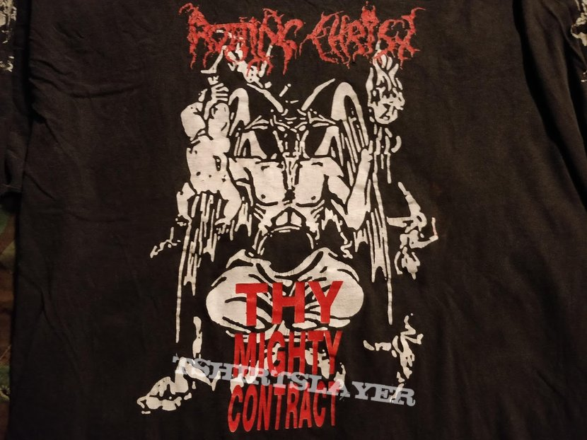Rotting Christ Thy Mighty Contract 1993 LS
