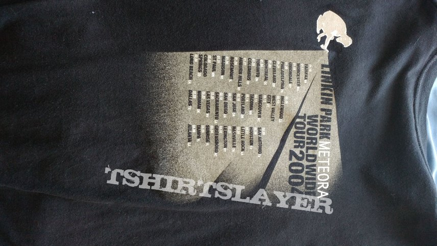 Linkin Park Meteora 2004 tour | TShirtSlayer TShirt and
