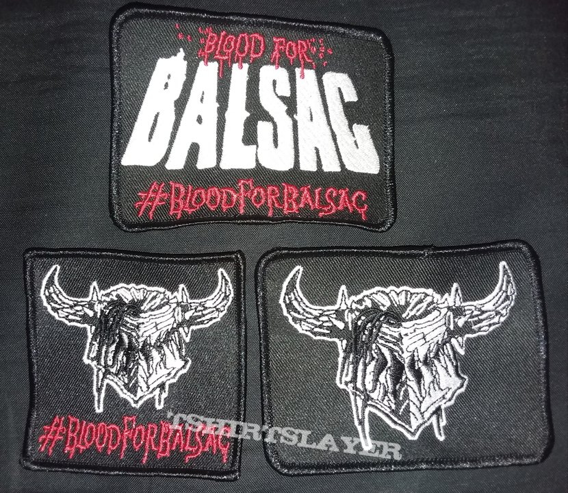 Blood for Balsac Patch set