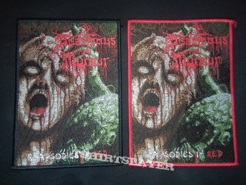 Disastrous Murmur - Rhapsodies in Red patches