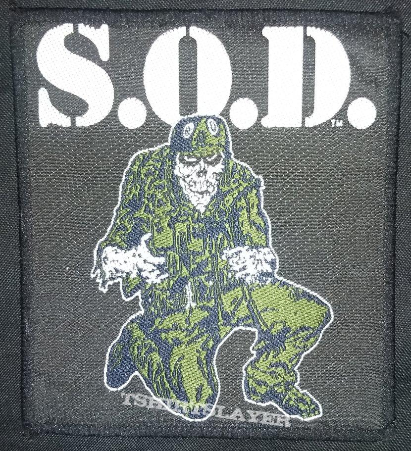 Sargent D patch